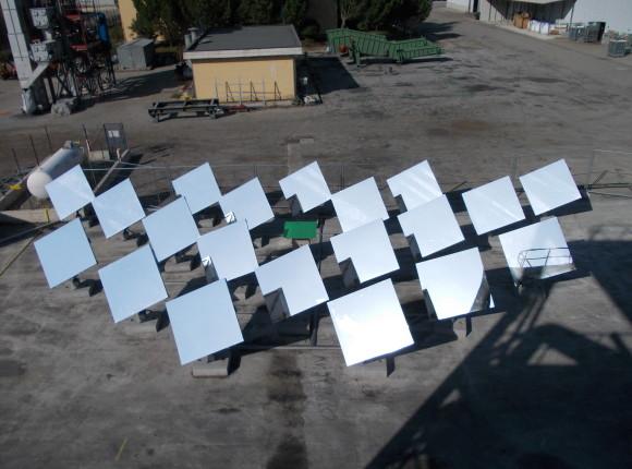 Sistemi di controllo e comando per inseguitori solari
