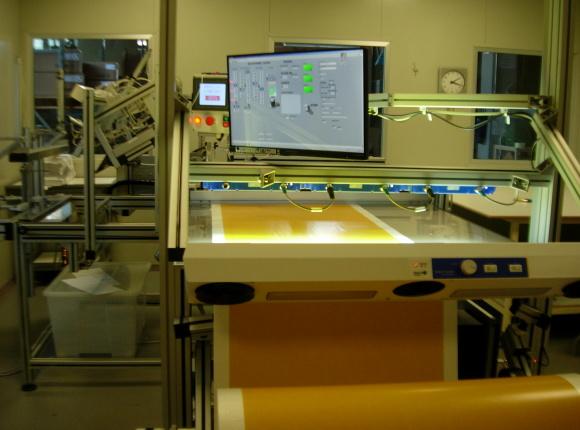 Analisi Ottica On-line per la qualità dei telini chirurgici