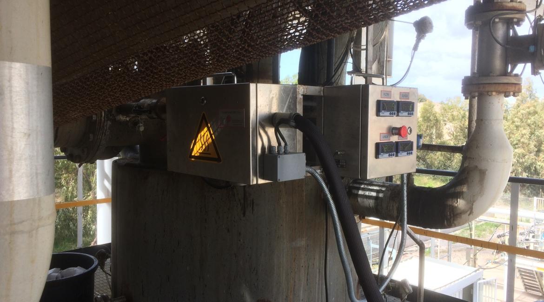 CAMPIONATORE TAR installazione in campo